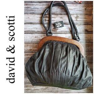 Authenic David & Scotti Handbag